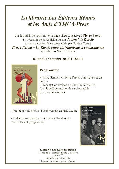 Pierre Pascal ed reunis