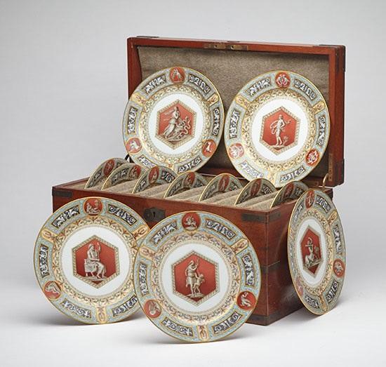 Rare Russian Imperial Porcelain Highlight Waddington's Auction
